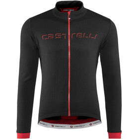 Castelli Fondo Bike Jersey Longsleeve Men red/black